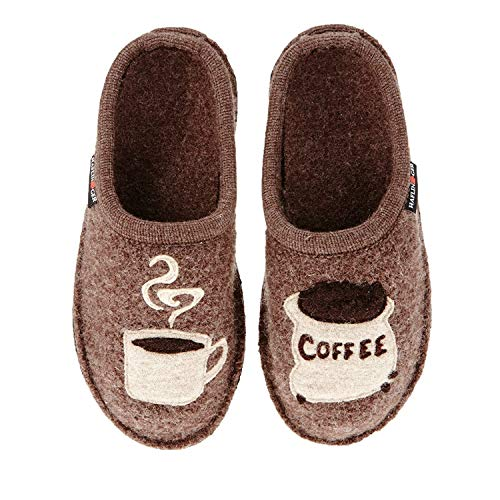 HAFLINGER Women's, Coffee Slippers