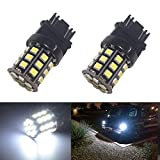 Image of JDM ASTAR Super Bright AX-2835 Chipsets 3056 3156 3057 3157 LED Bulbs ,Xenon White (Only used for backup reverse lights)
