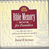 The One Year Bible Memory Book for Families, David R. Veerman, 0842313877