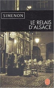 Le relais d'Alsace par Simenon