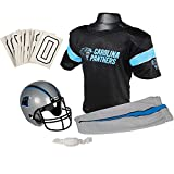 Franklin Sports NFL Carolina Panthers Youth Licensed Deluxe Uniform Set, Large