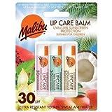 Malibu Blister LipBalm with SPF30 ، بطيخ/نعناع / فانيليا 12 ml