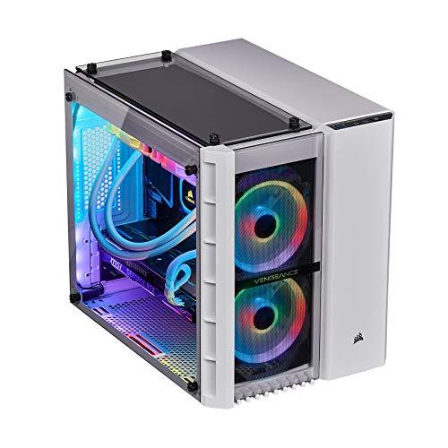 CORSAIR Vengeance 5189 Gaming PC, i7-9700K, RTX 2080, Z390, 960GB M.2 SSD, 32GB DDR4-3000, Win 10 Home - White