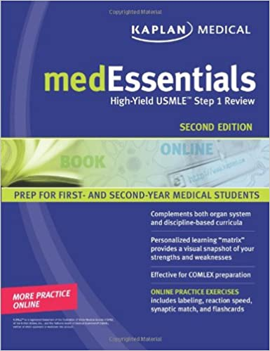 medEssentials: High-Yield USMLE Step 1 Review (Kaplan Medessenitals