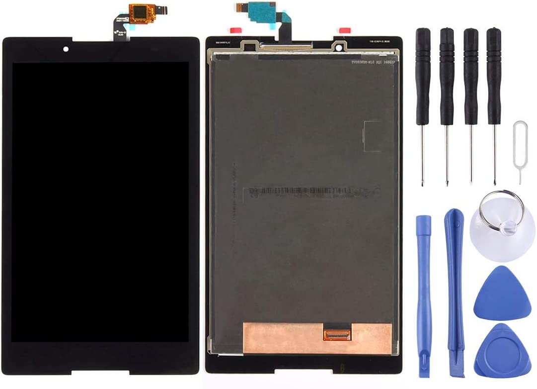 Yhytbhsh Replace LCD Screen and Digitizer Full Assembly for Lenovo Tab3 8 / TB3-850 / TB3-850F / TB3-850M (Black) (Color : Black)