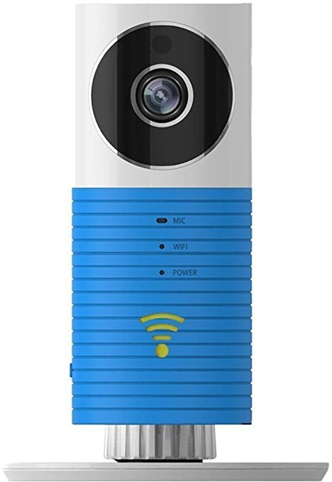 Cleverdog DOG- 1W Plug and Play Wi-Fi Security Camera (Blue) Surveillance Video Equipment at amazon