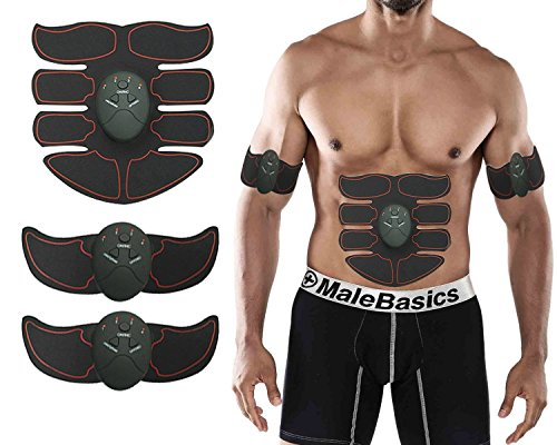 fashion-free Abs stimulator,Fitness Slimming Body Sculptor Muscle,Abdominal muscles Exerciser Belts,Ab trainer Trainer Butterfly Ab Gymnic Belt Massager Pad Fat Burner(new) (red)