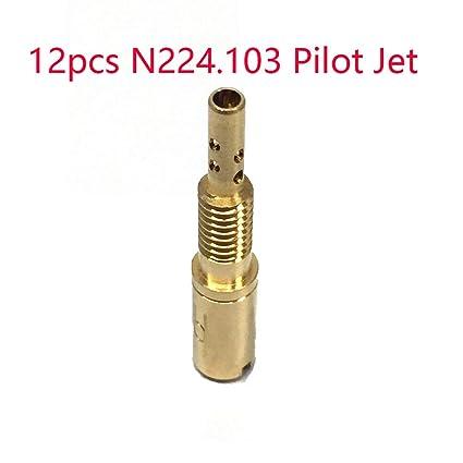 12X Pilot Jet Traje para Mikuni N224.103 (TMX36) KX125 LT ...
