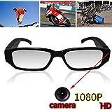 Oumeiou Real Full HD 1080P USB2.0 Spy Camera Glasses Eyewear Mini Hidden Camera Video Recorder Camcorder DV DVR Voice Recorder 5MP for WinXP/2000/Vista/Windows 7 High Definition