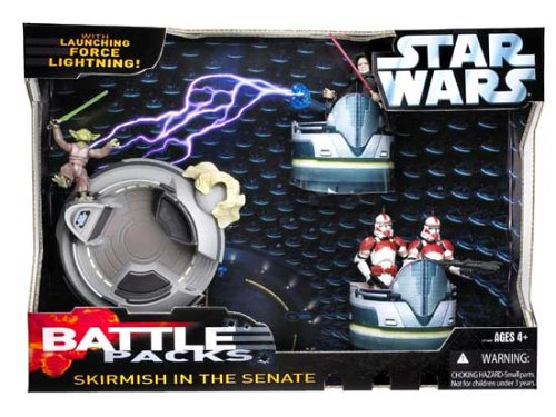 Star Wars Battle Packs Skirmish in the Senate Action Figure