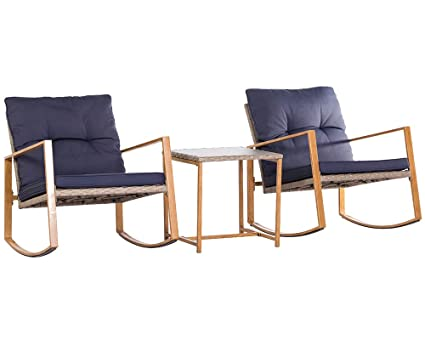 amazon com solaura patio outdoor furniture 3 piece bistro set rh amazon com patio outdoor furniture sets patio outdoor furniture covers