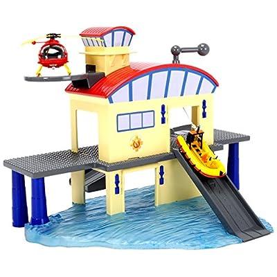 Smoby 203099616038 - Sam Le Pompier - Centre de Secours Marin