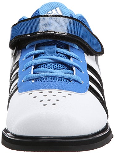 Adidas Prestaties Heren Powerlift.2 Trainer Schoen Wit / Zwart / Helder Royal
