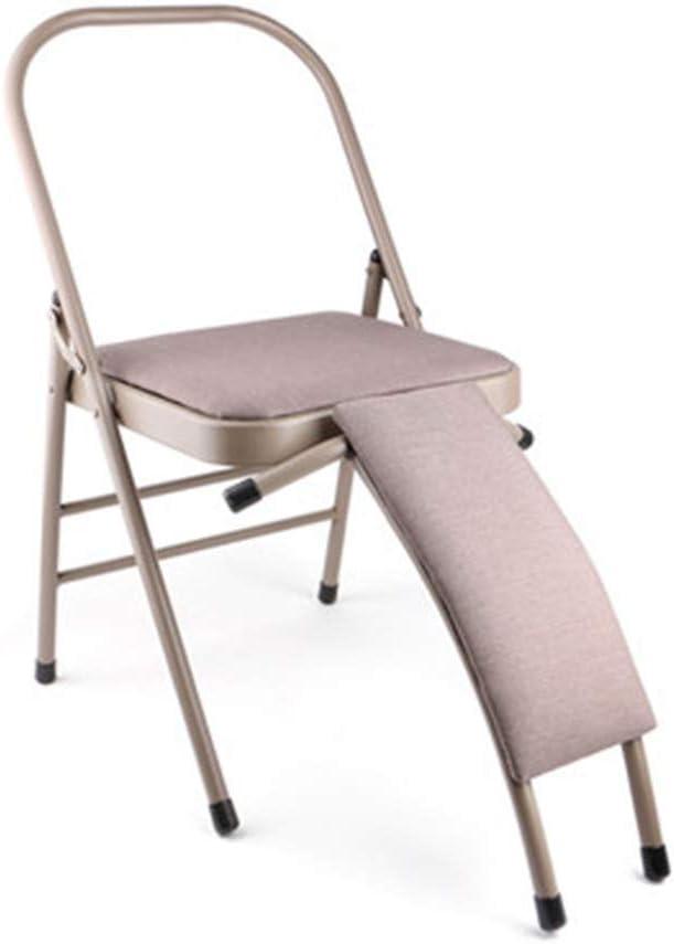 XXSLY Silla Invertida Mejorada, desmontaje Plegable Multifuncional, máquina Auxiliar de Taburete de Yoga, para el Gimnasio Familiar Alivie la Fatiga y desarrolle el Cuerpo
