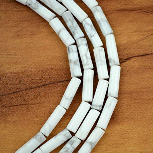 Quartz Tube Beads - 3