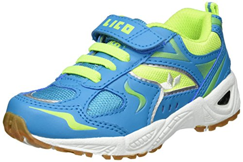 LicoBob Vs - Zapatillas Deportivas para Interior Niños petróleo