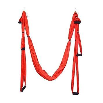szlsl88 Yoga Hamaca Paracaídas Tela Swing, Paracaídas Tela ...