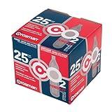 Cartuchos de CO2 Crosman 12 gramos, 25 cartuchos