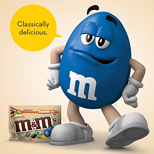 M&M'S Almond Chocolate Candy Sharing Size 9.3-Ounce Bag (Pack of 8) by M&M'S (Image #5)
