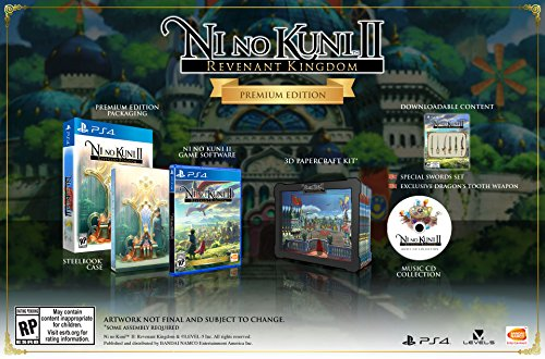 Ni No Kuni II: Revenant Kingdom - PlayStation 4 Premium Edition
