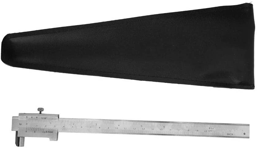 200mm//8in Portable Precision Measuring Gauge Measuring Caliper Dual Calibration Inch//Metric Vernier Caliper