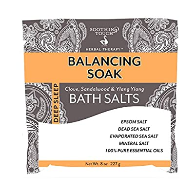 Soothing Touch Balancing Soak Bath Salts Pouch
