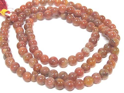 6 mm from Nepal Natural carnelian beads gemstone mala making supplies 108 beads ML089A