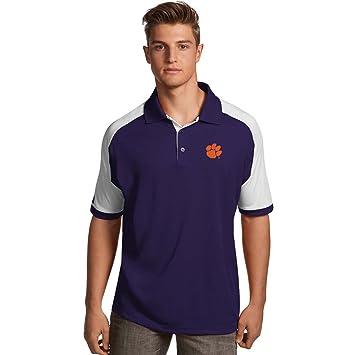 Clemson para hombre siglo polo equipo de (color: morado), púrpura ...
