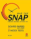 Map the SNAP Symbiosis National Aptitude Test Solved Papers (2015-2005) & 5 Mock Tests
