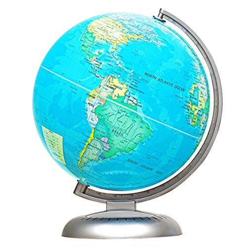 Illuminated Desk Globe - Goplus 8