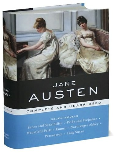 Jane Austen: Complete and Unabridged (Sense and Sensibility, Pride and Prejudice, Mansfield Park, Emma, Northanger Abbey