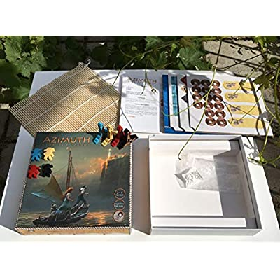 Tyto Games Azimuth: Ride The Winds, 2-4 Player Strategy Boardgame with Co-op Game Play: Toys & Games