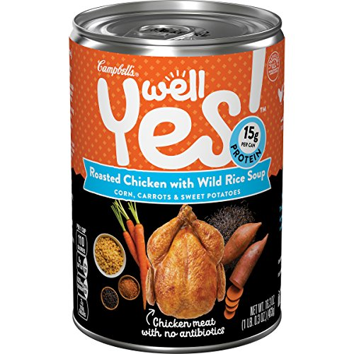 Well Yes! Soup, Roasted Chicken with Wild Rice, 16.3 oz. (Packaging May Vary)