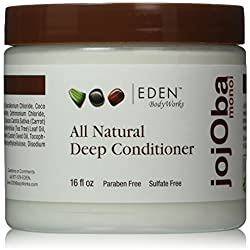Eden BodyWorks Jojoba Monoi Deep Conditioner, 16 oz