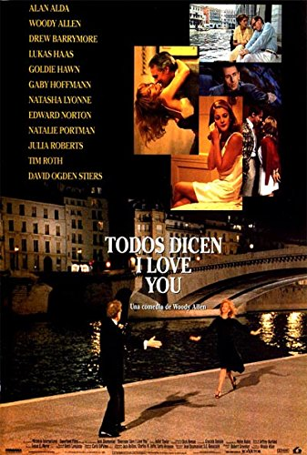 Everyone Says I Love You ( Woody Allen Fall Project 1995 ) [ NON-USA FORMAT, Blu-Ray, Reg.B Import - Spain ]