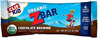 product image for Clif Bar Clif Kid ZBAR - Organic Granola Bars - - (1.27 Ounce Energy Bars, Lunch Box Snacks,) Chocolate Brownie,18 Count