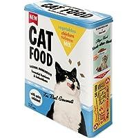 Nostalgic-Art 30320Animal Club–Cat food–Vegetables, Chicken, Salmon Mix, tarro XL