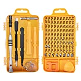 110-in-1 Multi-purpose Chrome Vanadium Steel Screwdriver Screwdriver Set Mobile Phone Disassemble Watch Glasses Tool