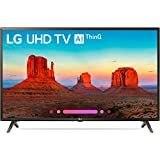 LG 49UK6300PUE 49-Inch 4K Ultra HD Smart LED TV (2018 Model)