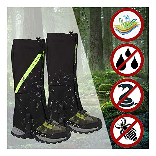 Outdoor Hiking Hunting Snow Sand Snake Waterproof Boots Cover Legging Gaiters