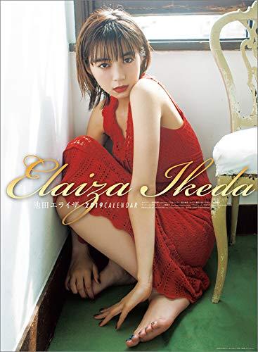 JAPAN IMPORT :: Ikeda Elaiza 2019 calendar wall-B2 l-190