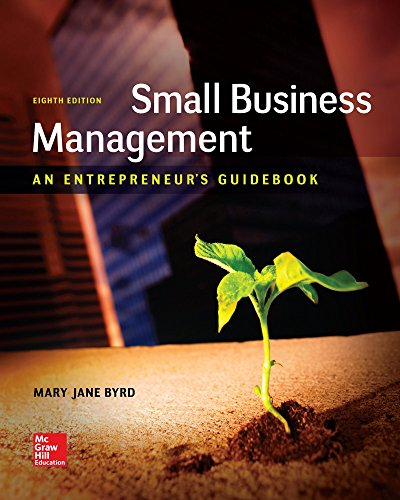1259538982 - Small Business Management: An Entrepreneur's Guidebook