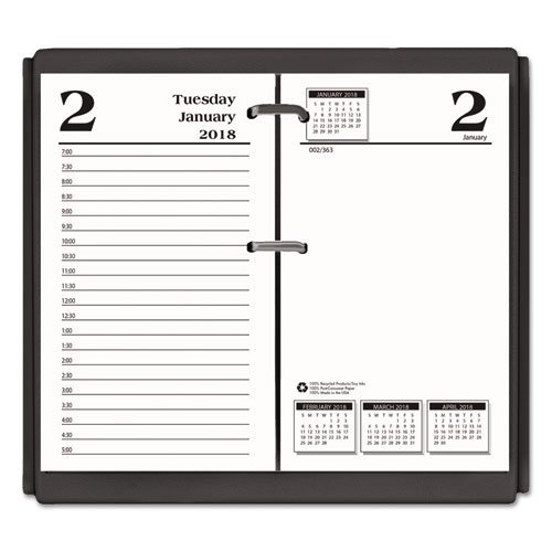 House of Doolittle 2018 Desk Calendar Daily Refill, 3.5'' x 6'', Economy