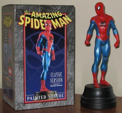 Amazing Spider-man Classic Version 13 Inch Painted Statue Randy Bowen