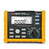 Wonderful Digital earth resistance tester Digital & Analog Bar Ground Earth Resistance Voltage Tester Meter Range 0 - 4K ohm Earth Volt 0 - 200V MS2302