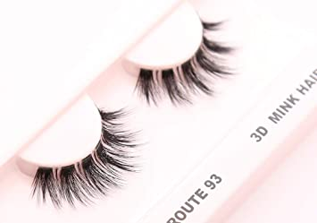 8ce04991eeb Amazon.com : Cherishlook 3D MINK Hair Eyelashes (US Route 93) - 3packs :  Beauty