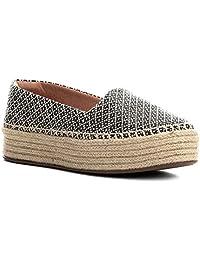 Sapatilha Shoestock Espadrille Flatform Feminina