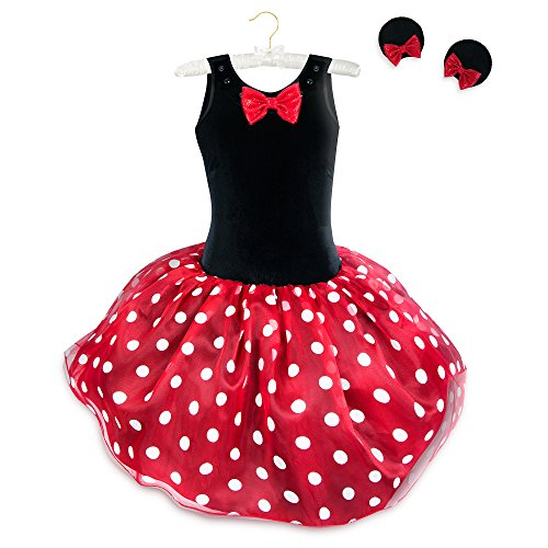 Disney Minnie Mouse Tutu with Headband for Women Size Ladies L Red