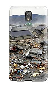 Ideal Brooullivan Case Cover For Galaxy Note 3(japan Tsunami - Earthquake March 2011), Protective Stylish Case