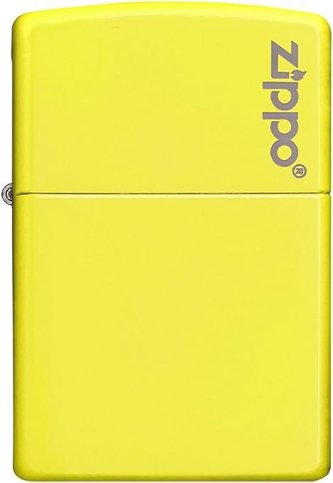 Zippo Neon Yellow Mechero, Metal, Amarillo, 3.5x1x5.5 cm: Amazon.es: Hogar